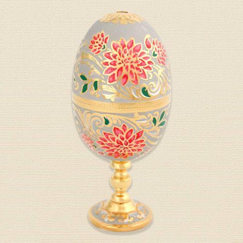 Яйцо-рюмка «Корзина цветов»
