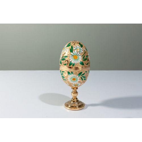 Яйцо-рюмка «Русская ромашка»