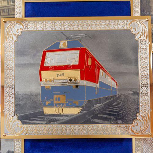 Панно «Уральские локомотивы»
