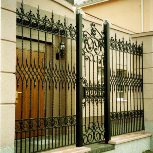 Кованые ворота и калитка - 16.