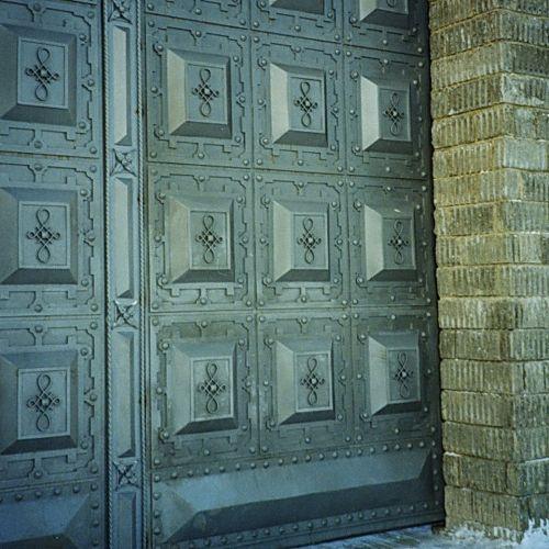 Кованые ворота и калитка - 28.