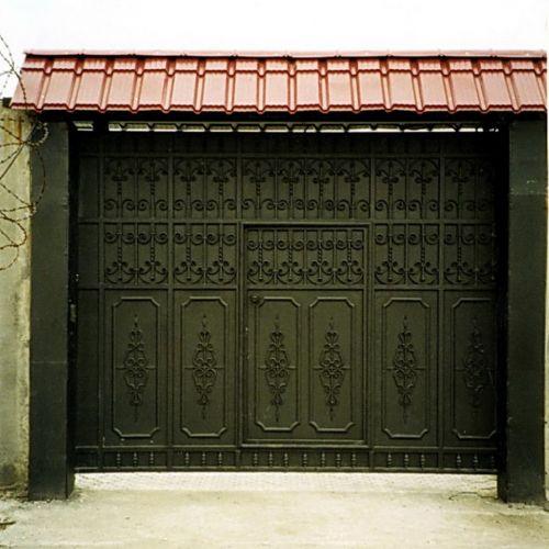 Кованые ворота и калитка - 31.