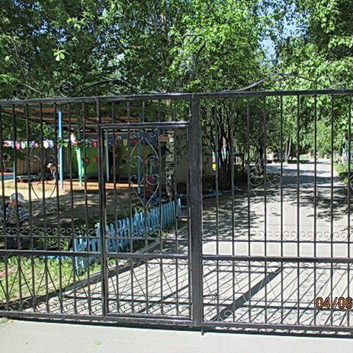 Кованые ворота и калитка - 34.