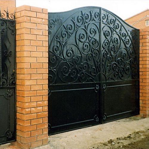 Кованые ворота и калитка - 41.