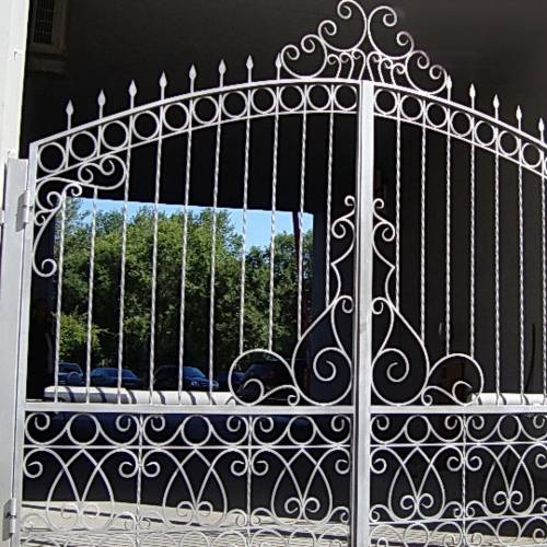 Кованые ворота и калитка - 45