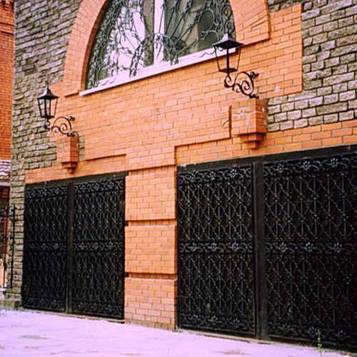 Кованые ворота и калитка - 48.
