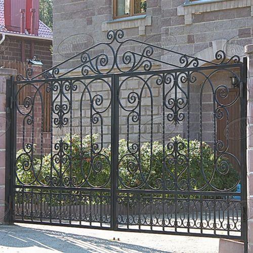 Кованые ворота и калитка - 50.