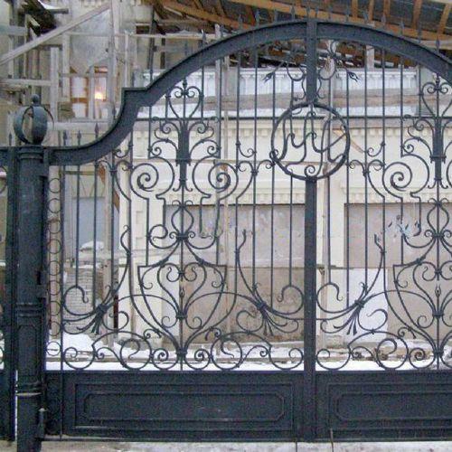 Кованые ворота и калитка - 64