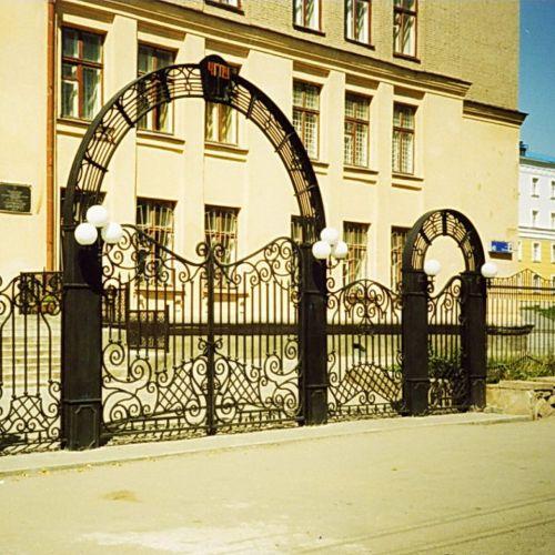 Кованые ворота и калитка - 66.
