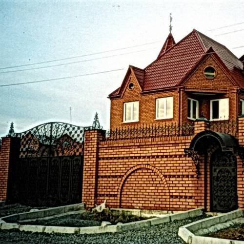 Кованые ворота и калитка - 06.