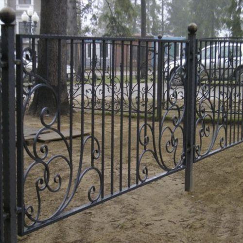 Кованый забор, ограда - 06.