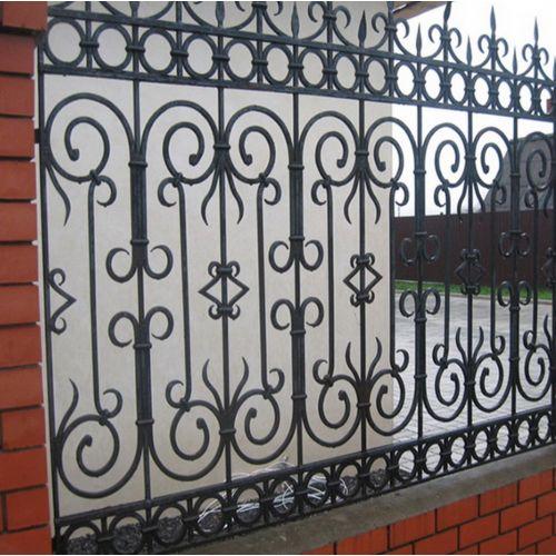 Кованый забор, ограда - 09.