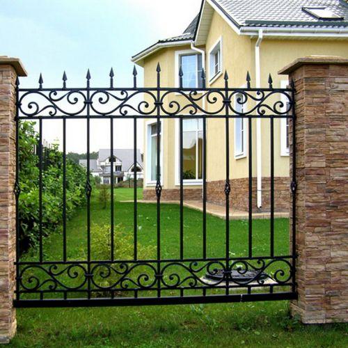 Кованый забор, ограда - 22
