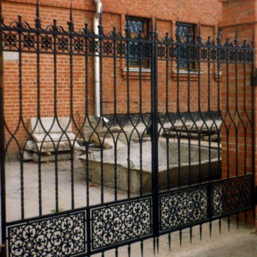 Кованый забор, ограда - 26.