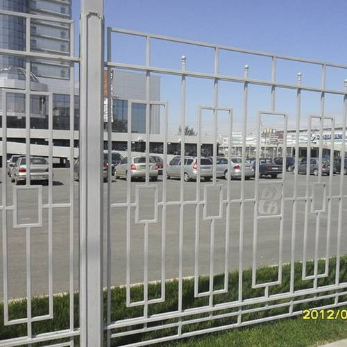 Кованый забор, ограда - 28.
