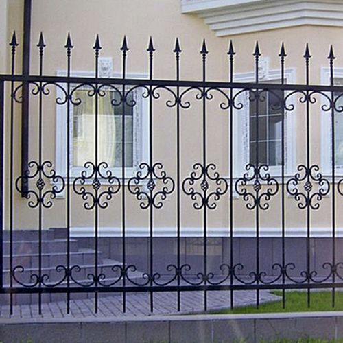 Кованый забор, ограда - 29.