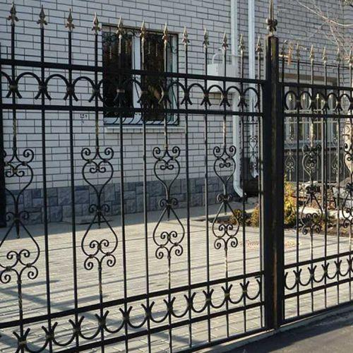 Кованый забор, ограда - 30