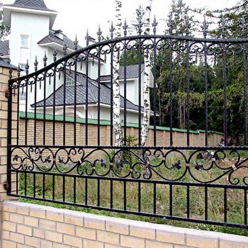 Кованый забор, ограда - 31.
