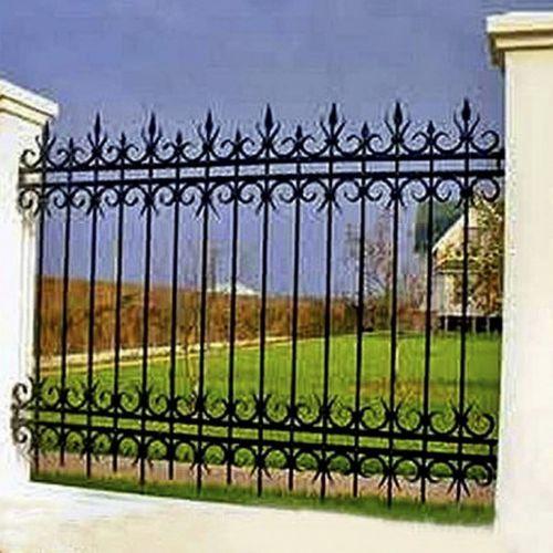 Кованый забор, ограда - 32.