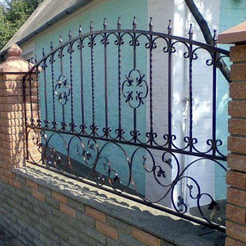Кованый забор, ограда - 33.