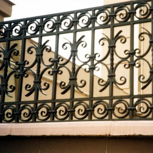 Кованый забор, ограда - 38.