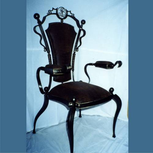 Кованый стул - 01.