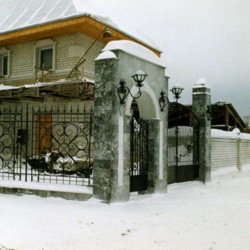 Кованый фонарь - 02.