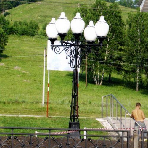 Кованый фонарь - 08.