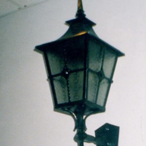 Кованый фонарь - 09.