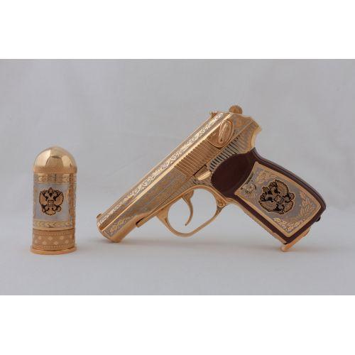 Пистолет пневматический «Стрелок» (1582.5.1) с рюмкой-пулей