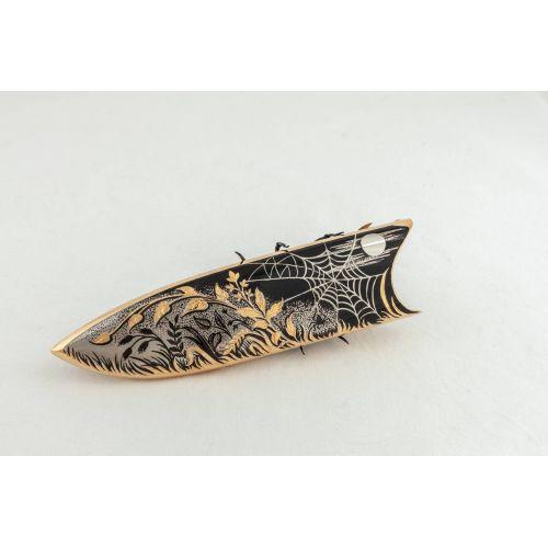 Нож украшенный «Арахна» Нр3