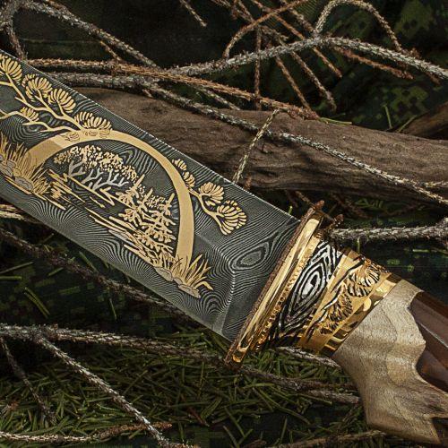 Нож украшенный «Сокольничий» Н5