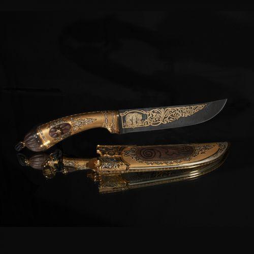 Нож украшенный «Сибирское ханство» Н5