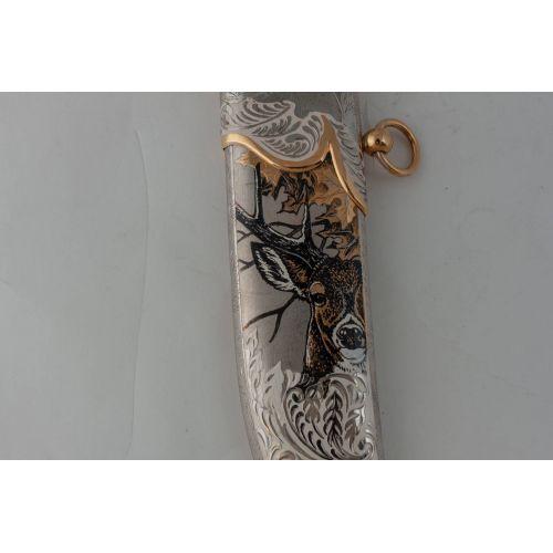 Нож украшенный «Лесной олень» Н69
