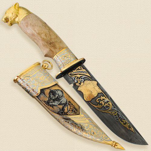 Нож украшенный «Сумерки Аргентины» Н8