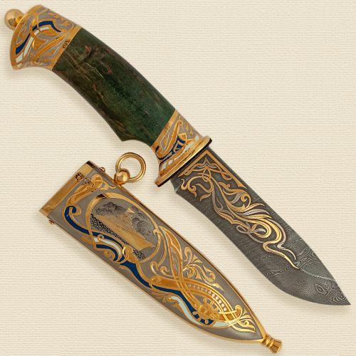 Нож украшенный «Петр Великий» Н6