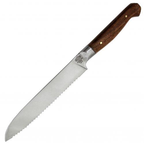 Набор кухонных ножей из 5 штук. Сталь 440c. Рукоять накладная, орех. Златоустовская гравюра