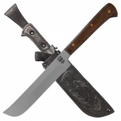 Нож кухонный «Пчак» НР6, сталь ЭИ-107, рукоять орех