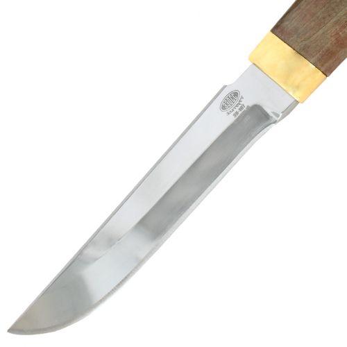Нож «Немецкий барон» Н3-Л, сталь ЭИ-107, рукоять: золото, стабилизированная береза, литьё, рисованный клинок в золоте