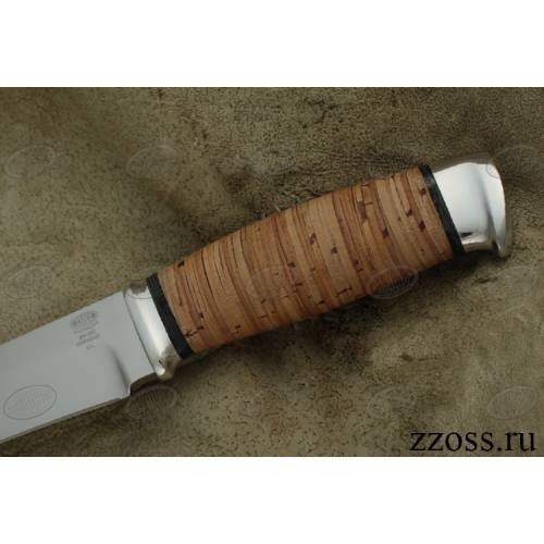 Нож охотничий, туристический «Рыцарь» Н1, сталь ЭИ-107, рукоять: дюраль, береста