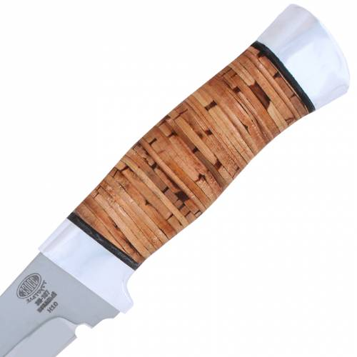 Нож охотничий, туристический «Телохранитель» Н10, сталь ЭИ-107, рукоять: дюраль, береста наборная