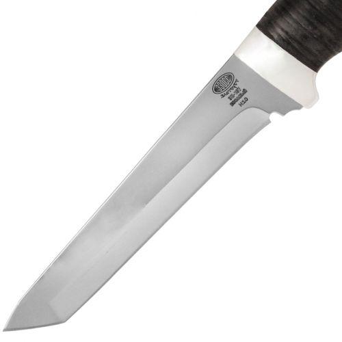 Нож охотничий, туристический «Телохранитель» Н10, сталь ЭИ-107, рукоять: дюраль, кожа