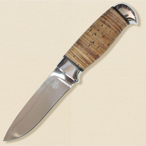 Нож охотничий, туристический «Царевич» Н15, сталь ЭИ-107, рукоять: дюраль, береста наборная