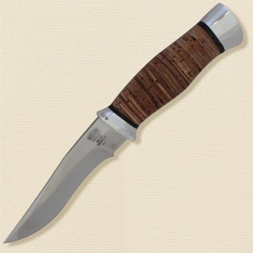 Нож охотничий, туристический «Персидский» Н17, сталь ЭИ-107, рукоять: дюраль, береста наборная