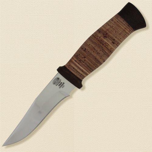 Нож охотничий, туристический «Персидский» Н17, сталь ЭИ-107, рукоять: текстолит, береста наборная