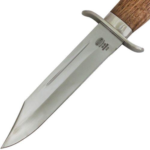 Нож охотничий, туристический «Пограничник» Н19, сталь ЭИ-107, рукоять: никель, орех