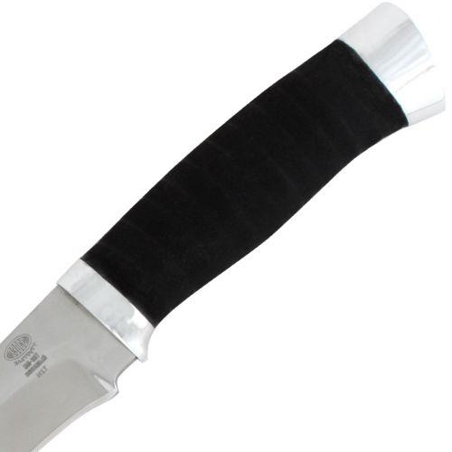 Нож охотничий, туристический «Мичман» Н1Т, сталь ЭИ-107, рукоять: дюраль, микропора