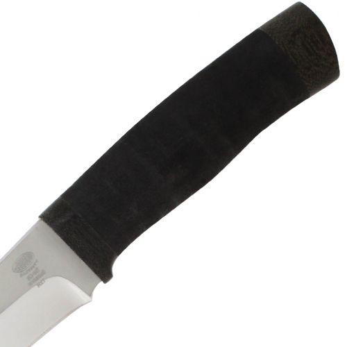 Нож охотничий, туристический «Мичман» Н1Т, сталь ЭИ-107, рукоять: текстолит, микропора