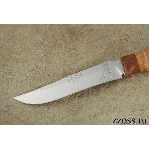 Нож охотничий, туристический «Турецкий» Н2, сталь ЭИ-107, рукоять: текстолит, береста наборная
