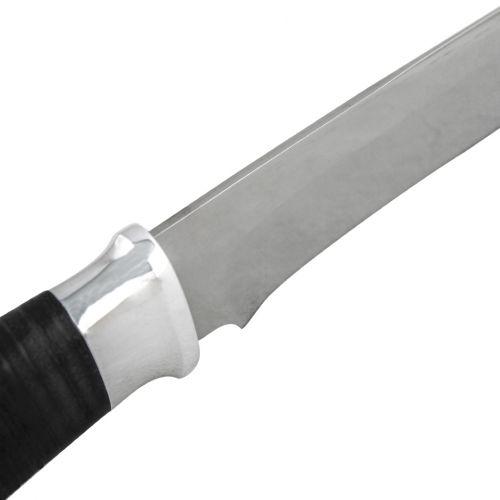 Нож охотничий, туристический «Ефрейтор» Н24, сталь ЭИ-107, рукоять: дюраль, кожа